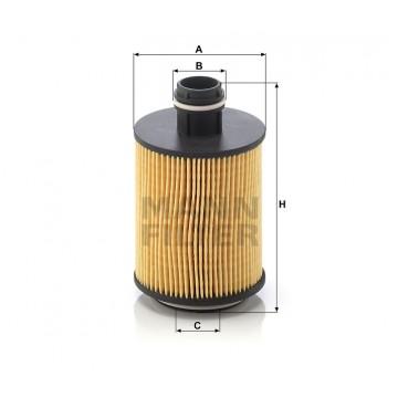 Alyvos | Tepalo filtras MANN-FILTER HU 7004/1 x | MOVIDA.LT