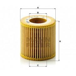 Alyvos | Tepalo filtras MANN-FILTER HU 710 x