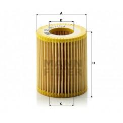 Alyvos | Tepalo filtras MANN-FILTER HU 711/4 x