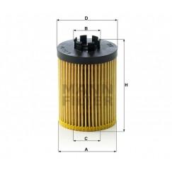Alyvos | Tepalo filtras MANN-FILTER HU 712/8 x