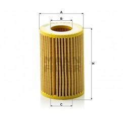 Alyvos | Tepalo filtras MANN-FILTER HU 712/9 x