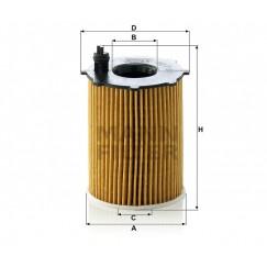 Alyvos | Tepalo filtras MANN-FILTER HU 716/2 x