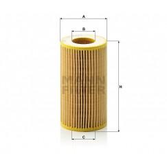 Alyvos | Tepalo filtras MANN-FILTER HU 718/1 k