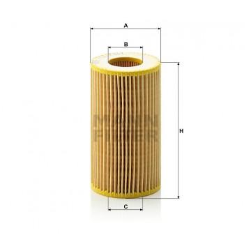Alyvos | Tepalo filtras MANN-FILTER HU 718/1 k | MOVIDA.LT
