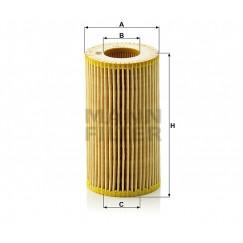 Alyvos | Tepalo filtras MANN-FILTER HU 718/1 n