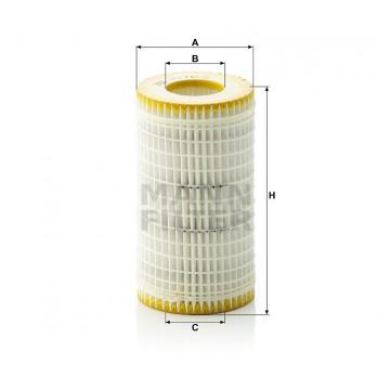 Alyvos | Tepalo filtras MANN-FILTER HU 718/5 x | MOVIDA.LT