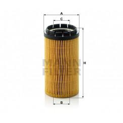 Alyvos | Tepalo filtras MANN-FILTER HU 718 x