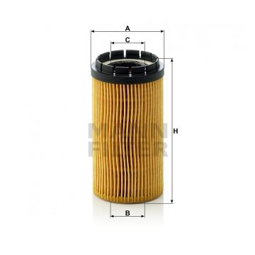 Alyvos | Tepalo filtras MANN-FILTER HU 718 x | MOVIDA.LT