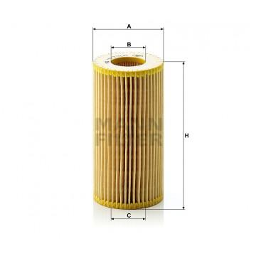 Alyvos | Tepalo filtras MANN-FILTER HU 719/8 x | MOVIDA.LT