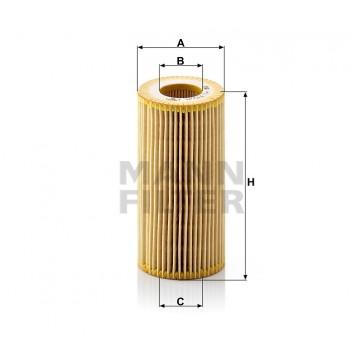Alyvos | Tepalo filtras MANN-FILTER HU 719/8 y | MOVIDA.LT