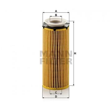 Alyvos | Tepalo filtras MANN-FILTER HU 720/3 x | MOVIDA.LT