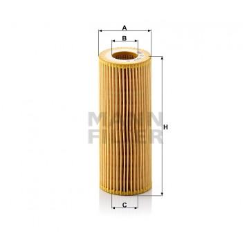 Alyvos | Tepalo filtras MANN-FILTER HU 722 x | MOVIDA.LT