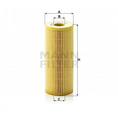 Alyvos | Tepalo filtras MANN-FILTER HU 726/2 x