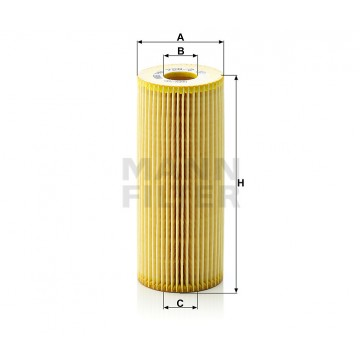 Alyvos | Tepalo filtras MANN-FILTER HU 726/2 x | MOVIDA.LT