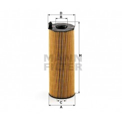 Alyvos | Tepalo filtras MANN-FILTER HU 8001 x
