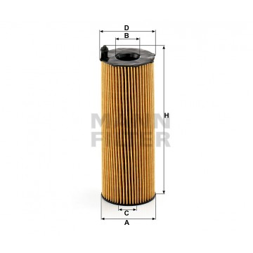 Alyvos | Tepalo filtras MANN-FILTER HU 8001 x | MOVIDA.LT