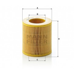Alyvos | Tepalo filtras MANN-FILTER HU 816 x