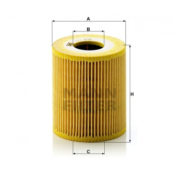 Alyvos | Tepalo filtras MANN-FILTER HU 818 x | MOVIDA.LT