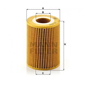 Alyvos | Tepalo filtras MANN-FILTER HU 820/1 y | MOVIDA.LT