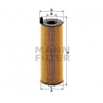 Alyvos | Tepalo filtras MANN-FILTER HU 831 x | MOVIDA.LT