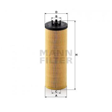 Alyvos | Tepalo filtras MANN-FILTER HU 842 x | MOVIDA.LT