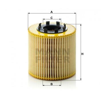 Alyvos | Tepalo filtras MANN-FILTER HU 923 x | MOVIDA.LT