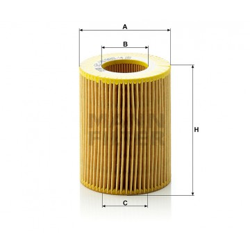 Alyvos | Tepalo filtras MANN-FILTER HU 925/4 x | MOVIDA.LT