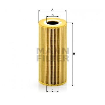 Alyvos | Tepalo filtras MANN-FILTER HU 951 x | MOVIDA.LT