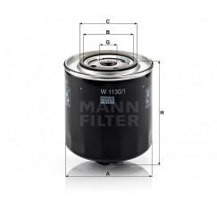 Alyvos | Tepalo filtras MANN-FILTER W 1130/1