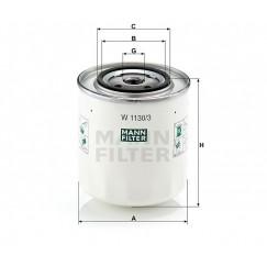 Alyvos | Tepalo filtras MANN-FILTER W 1130/3