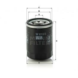 Alyvos | Tepalo filtras MANN-FILTER W 610/3