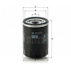 Alyvos | Tepalo filtras MANN-FILTER W 610/9