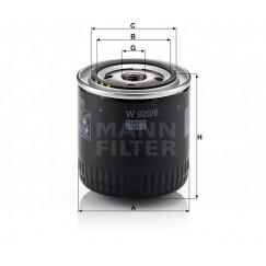 Alyvos | Tepalo filtras MANN-FILTER W 920/6