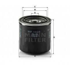 Alyvos | Tepalo filtras MANN-FILTER WP 1026