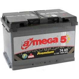 Akumuliatorius A-Mega Premium 74Ah 760A