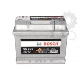 Akumuliatorius BOSCH S5 63Ah 610A