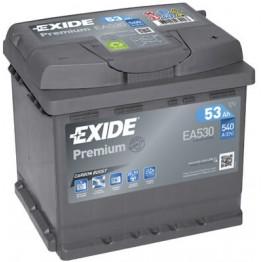 Akumuliatorius EXIDE Premium 53Ah 540A