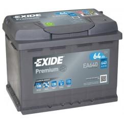 Akumuliatorius EXIDE Premium 64Ah 640A