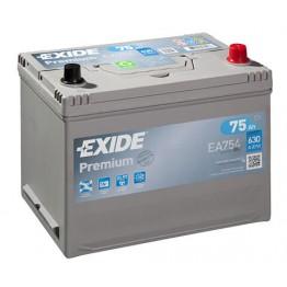Akumuliatorius EXIDE Premium 75Ah 630A