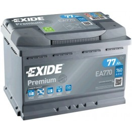 Akumuliatorius EXIDE Premium 77Ah 760A