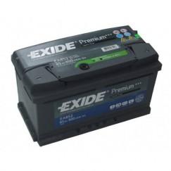 Akumuliatorius EXIDE Premium 85Ah 800A