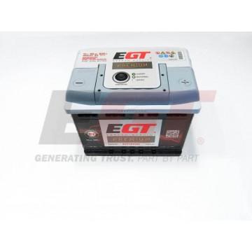 Akumuliatorius EGT Premium 65Ah 620A