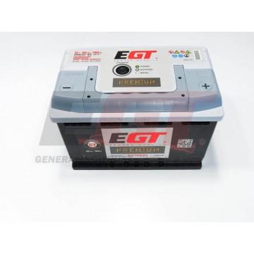 Akumuliatorius EGT Premium 80Ah 760A