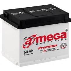 Akumuliatorius A-Mega Premium 60Ah 600A