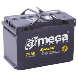 Akumuliatorius A-Mega Special 74Ah 750A