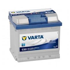 Akumuliatorius VARTA Blue Dynamic 52Ah 470A