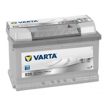Akumuliatorius VARTA Silver Dynamic 74Ah 750A