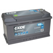 Akumuliatorius EXIDE Premium 100Ah 900A