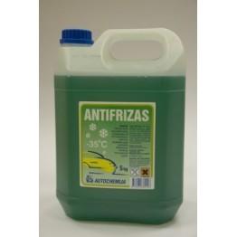 Antifrizas Autochemija žalias -35ºC 5L