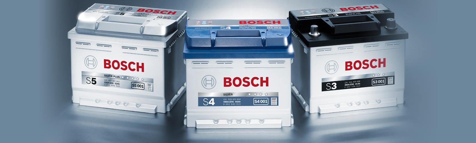 Bosch akumuliatoriai